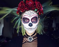 maquillaje halloween para mujeres originales