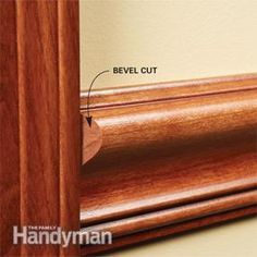 #HowTo install a chair rail: Click for #DIY project instructions! http://www.familyhandyman.com/carpentry/trim-carpentry/how-to-install-a-chair-rail/view-all