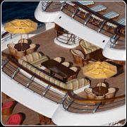 Bridge Deck  Cakewalk..largest Yacht built in the US