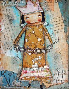 Believe Fairy,painting by Patti Ballard