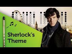 Sherlock Theme on Tin Whistle D + tabs tutorial Piano Music, Sheet Music, Tin Whistle, Native American Flute, The Witcher, Whistler, Sherlock, Irish, Ireland