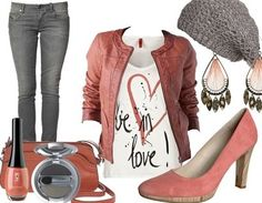 Orange Passion http://www.stylefruits.de/outfits
