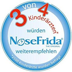 NoseFrida (The Original)200830012 Nasensekretsauger: Amazon.de: Baby