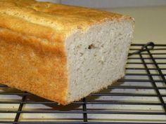 GFCF White Sandwich Bread with few flours