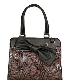 Take a look at this Black & Gray Sweety Tote by Jessica Simpson Collection on #zulily today!