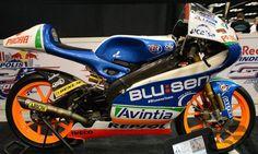 FTR Honda 250cc - Maverick Vinales #25 Moto3  - right side view