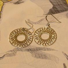 Najo Star Disc Earrings