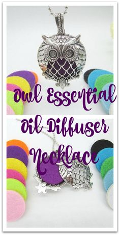I love this owl essential oil necklace! Very Trendy! #essentialoils #ad #health