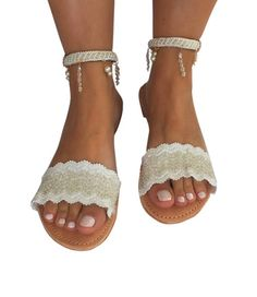 Handmade Leather Strappy Sandals Isabelle Luxury