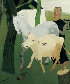Hubert Malfait (1898-1971) was een Belgisch kunstschilder die behoorde tot de derde Latemse School. In de jaren twintig van de 20e eeuw schilderde hij een aantal expressionistische doeken waarin de mens prominent op de voorgrond staat. Hij plaatst zijn figuur soms in een kubistische constructie.
