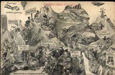Miskolc, A miskolci Avas 100 év múlva Ava, Vintage World Maps, Painting, Painting Art, Paintings, Painted Canvas, Drawings
