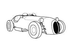 Jaguar Old Racing Cars Coloring Pages Bulk Color Jaguar
