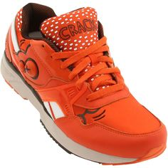 Reebok x Keith Haring Men Pump Running Dual (orange / blazing orange / black / whit)