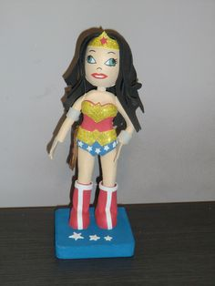 FOFUCHA GOMA EVA  WONDER WOMAN de MC & AD por DaWanda.com