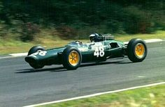 1964 Guards International Trophy, Brands Hatch : Jim Clark, Lotus-Ford Ford 32 #48, Ron Harris/Team Lotus, Winner. (ph: freeserve.co.uk)