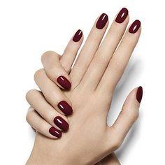Berry Naughty - Deep Purple Berry Nail Polish Manicure - Essie On-Hand Looks