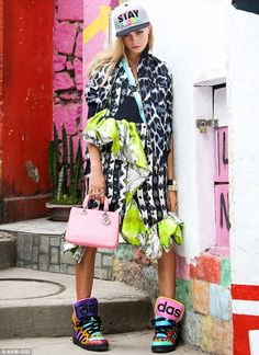 Brazil street fashion | ... street style as she poses up a storm in edgy new shoot for Vogue