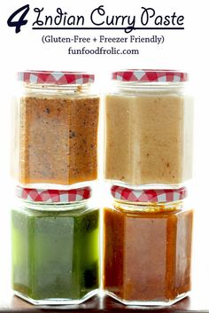 Here is everyday Indian curry paste that is naturally gluten-free, truly delicious and utterly simple to prepare. Find how to make 4 Indian curry paste. Indian Curry Paste Recipe, Masala Recipe, Homemade Curry, Homemade Spices, Homemade Seasonings, Pasta Al Curry, Indian Food Recipes, Ethnic Recipes, Bon Appetit