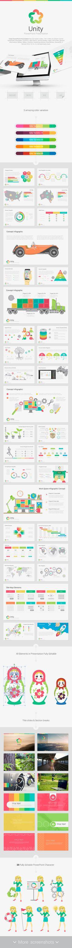 Unity PowerPoint - Creative PowerPoint Templates