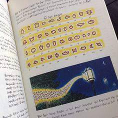 "When fire makes light...(inspirations from Serafini ""Codex Seraphinianus"")"