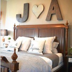 Master bedroom via whimsygirldesign and thepinktumbleweed