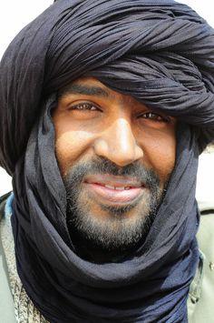 Saharawi Man, Sahara by Luca Gargano
