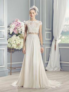 Moonlight Wedding Dress (Style J6361) #bauchfrei #weddingdress #dreamdress #cropped