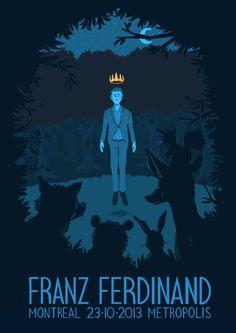Franz Ferdinand - Fan Gig poster