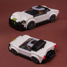 LEGO MOC 76900 Cool Coupe by Keep On Bricking | Rebrickable - Build with LEGO Brick Saw, Lego Group, Lego Parts, Lego Moc, Cars, Cutaway, Lego Pieces, Autos, Car