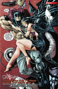 Batman & Catwoman.