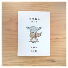 Ideas funny christmas cards for boyfriend star wars for 2020 Birthday Card Sayings, Funny Birthday Cards, Funny Christmas Puns, Christmas Ecards, Regalos Star Wars, Yoda Card, Star Wars Puns, Pun Card, Cards For Boyfriend