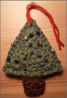Ravelry: 'Christmas Tree' Christmas Decoration pattern by Heather_C Gibbs
