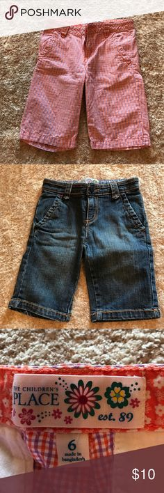 2 Children's Place Bermuda shorts 2 Children's Place Bermuda shorts-great condition Children's Place Bottoms Shorts