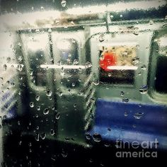 Not in Service - photograph by James Aiken. Fine art prints for sale. #traintravel #subwaystories #nycsubway