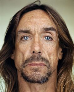 Iggy Pop - Up Close & Personal -Celebrity Photography By Martin Schoeller