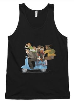 This unisex tank-top boasts a nice drape, which is ideal for layering or dealing with the summer heat. In true American Apparel style, the tank-top is extremely