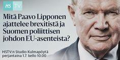 Mikä johtuu yksinkertaisesti siitä, että pohjalta ei pääse alaspäin, vaikka kuinka kuinka yrittäisi. Ja Lipponenhan yrittää. Vai mitä mieltä olette väitteestä, että EU-eroa haluavat pettävät Kekkosen perinnön?