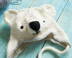 This adorable Polar Bear Knit Hat is the cutest DIY accessory for winter that we have ever stumbled upon.
