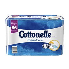 Cottonelle+CleanCare+Family+Roll+Toilet+Paper,+Bath+Tissue,+36+Rolls+$16.99