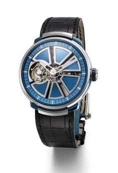 Fabergé Visionnaire I Blue Timepiece #Fabergé #watches