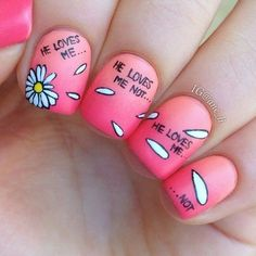 dandelion nails - Buscar con Google