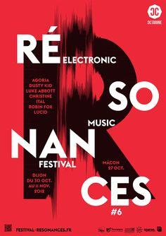 """Festival """"Résonances"""" by Atelier Tout Va Bien (France, Dijon – Mathias REYNOIRD et Anna CHEVANCE)"""