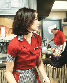 Classic diner uniform