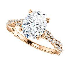 Infinity-Inspired Engagement Ring FARRAH | 123021
