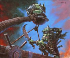 Image result for magic the gathering goblins art