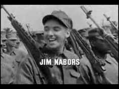 Gomer Pyle was great especially when Jim Nabors went from his Pyle voice to his incredible singing voice.  Jim Nabors said that it was always difficult for him to watch the opening of the show because many of the men that he is seen marching with were killed in Vietnam.