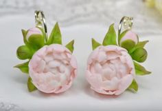 Pretty Polymer Clay Flower Jewelry Tutorials by Irina Ivanitskaya ~ The Beading Gem's Journal