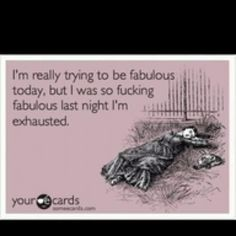 Ha.... so true... this is why I usually pick Saturday nights to be fab!