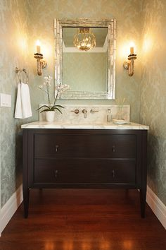 Hillside Powder Room