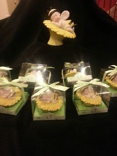 Lot of 24 Beautiful Bumble Bee Baby Angel Favor and Cake Topper Centerpiece | eBay